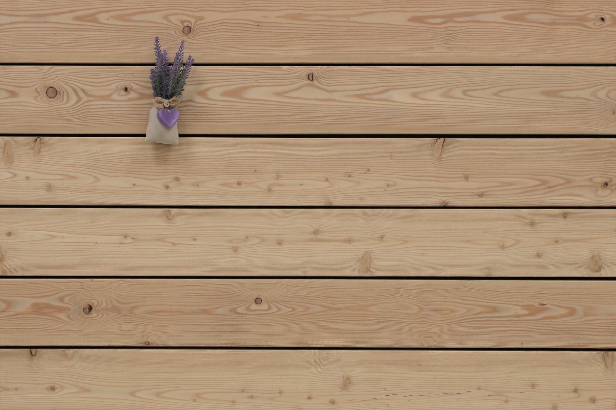 Angebot des Monats, Sibirische Lärche Terrassendielen, glatt, AB Sortierung, 26 x 143 bis 6000 mm für 6,90 €/lfm