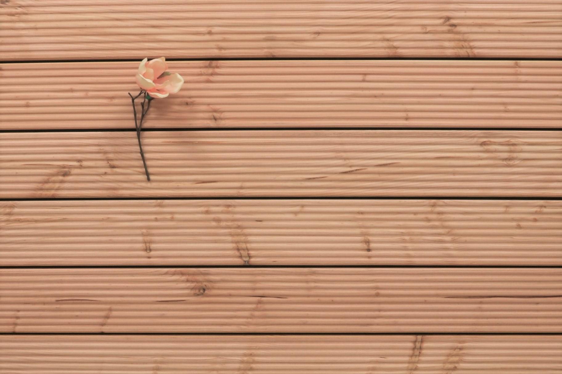 Douglasie Terrassendielen, grob genutet, 26 x 145 bis 5000 mm für 5,95 €/lfm