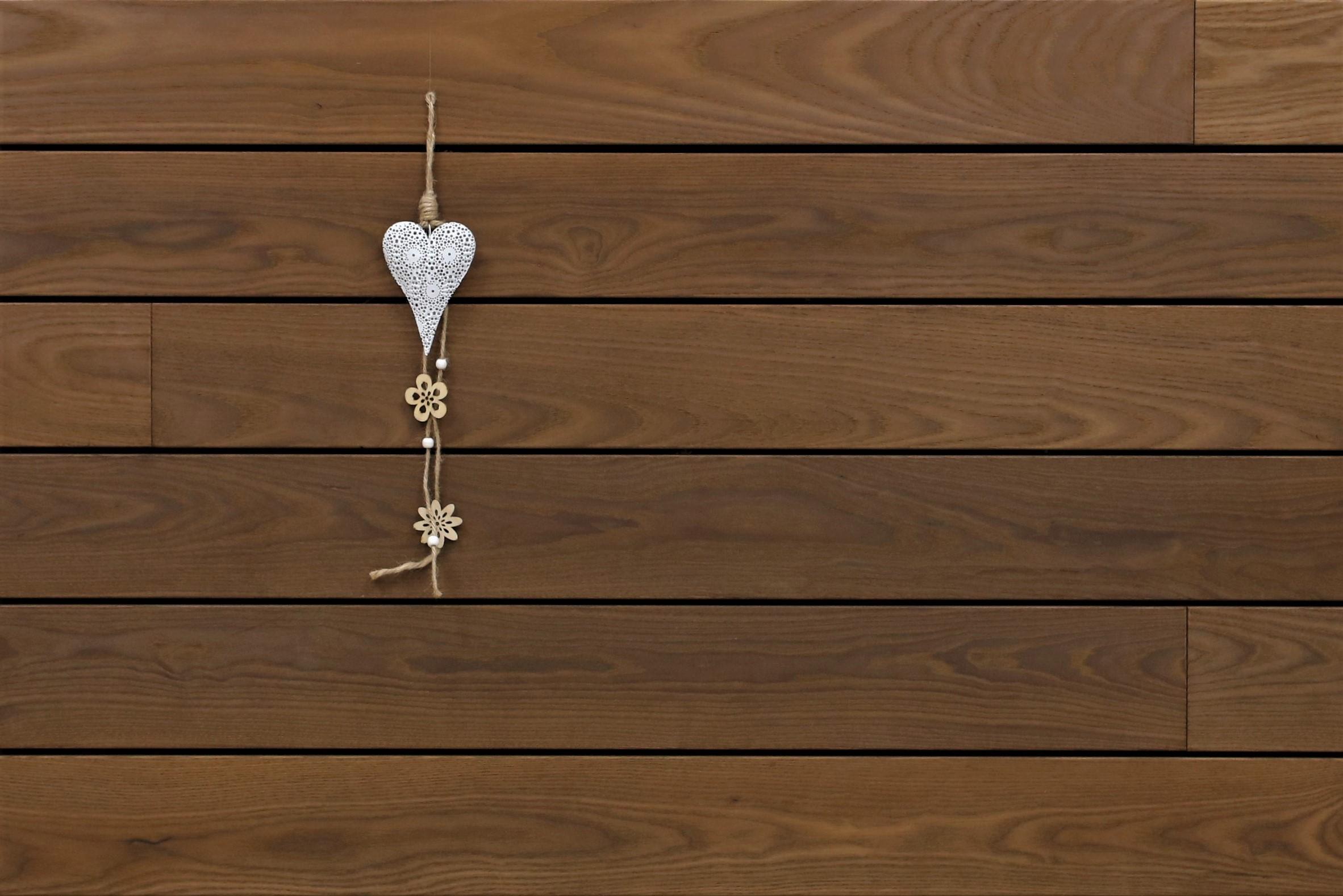 Thermoesche Terrassendielen, glatt, stirnseitig Nut / Feder Verbindung, 21 x 130 von 1800 bis 3000 mm, Premium (KD) für 10,95 €/lfm