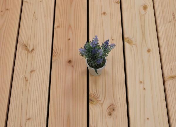 Angebot des Monats, Terrassendielen Douglasie, glatt, 26 x 145 bis 5000 mm für 5,90 €/lfm
