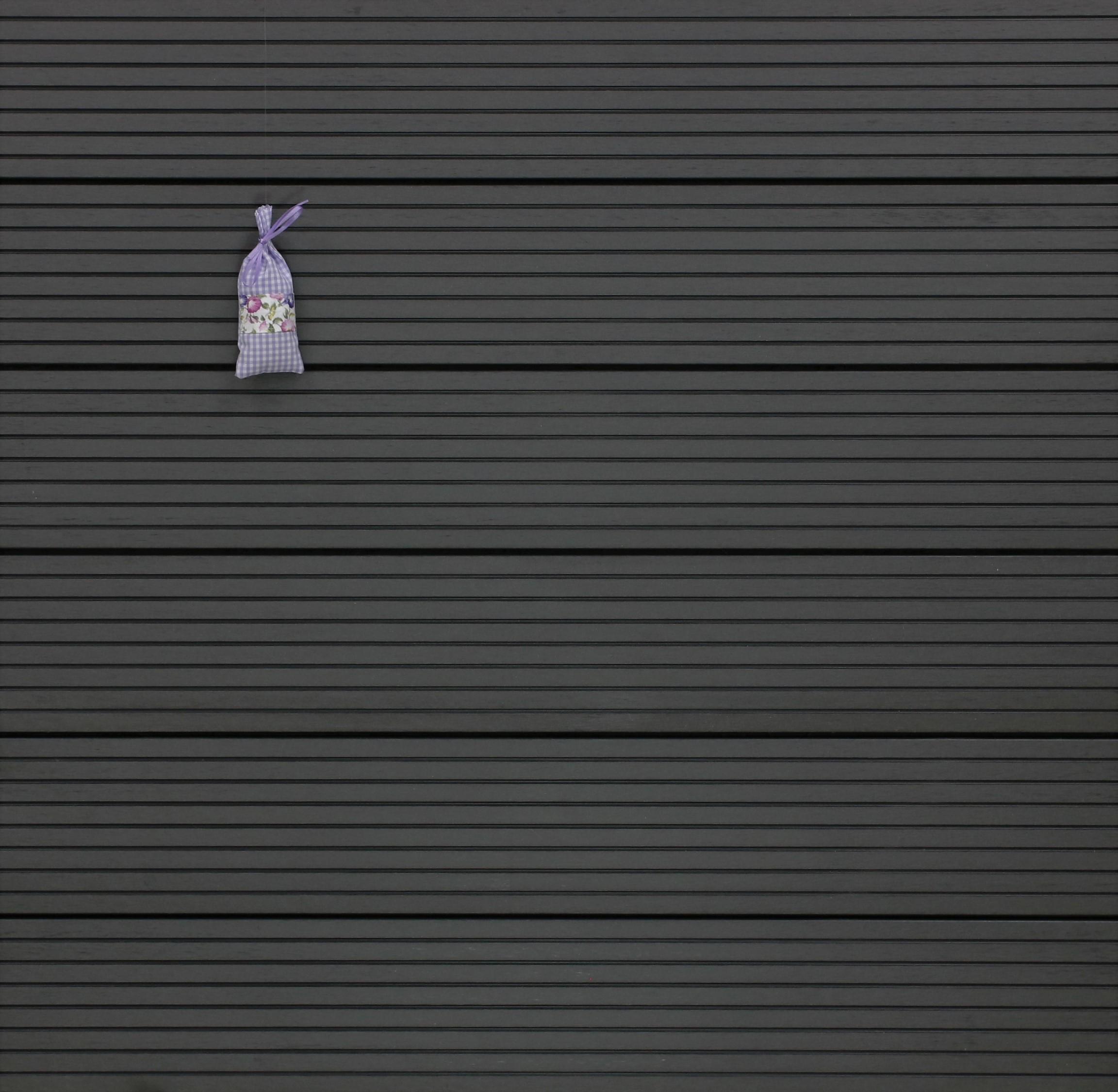 WPC Terrassendielen massiv, dunkelgrau, grob genutet, 22 x 143 bis 4800 mm, Vollprofil für 8,95 €/lfm